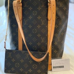 Vintage Louis Vuitton Bucket Bag with Pochette